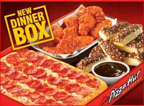 "Pizza Hut ""NEW DINNER BOX"" Makes A Great Family Meal #Giveaway"