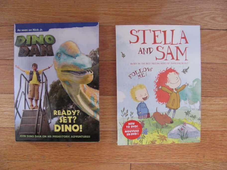 Learn about Dinosaurs with Dino Dan and Use your Imagination with Stella & Sam #giveaway