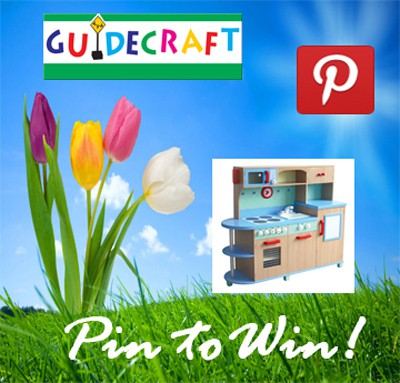 Guidecraft Wooden Toys & Pin To Win Promo #Giveaway