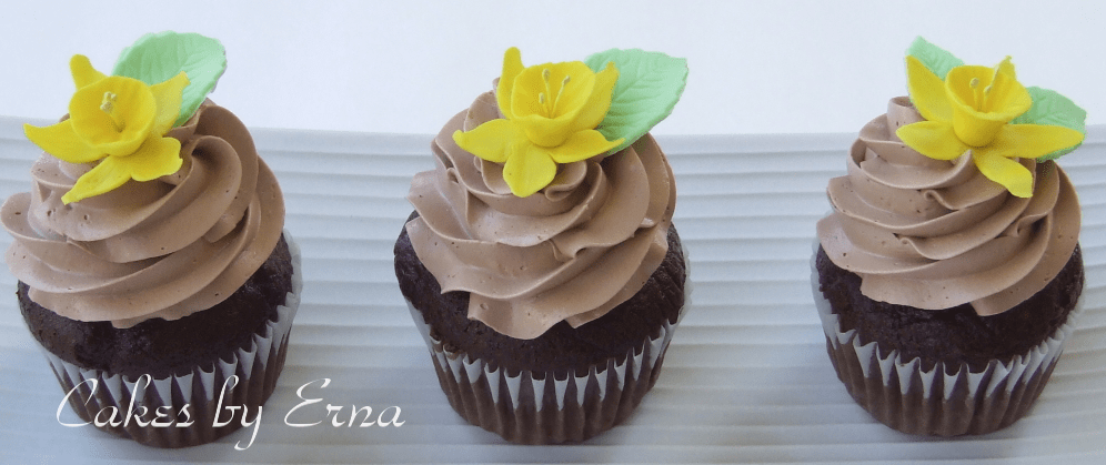 Daffodil Cupcakes For Cancer