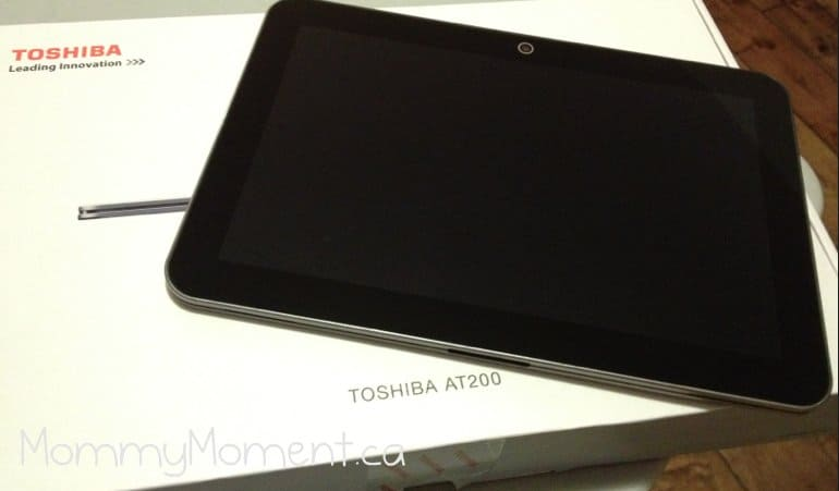 The TOSHIBA EXCITE Tablet is perfect for our busy family!