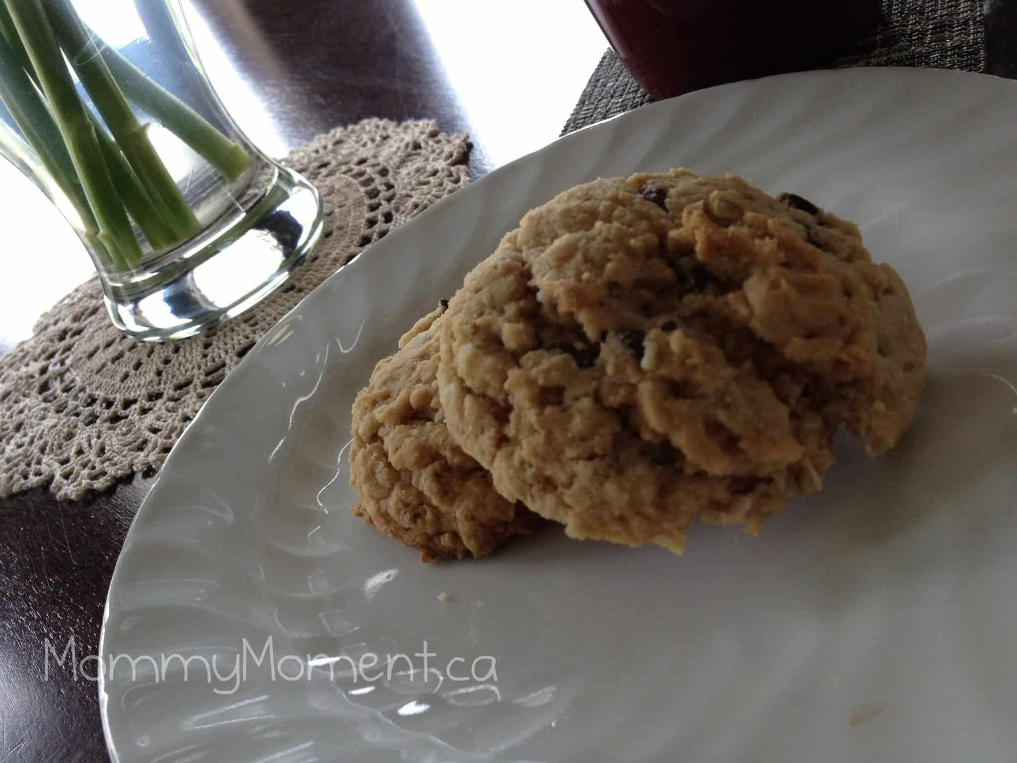 Coconut Cinnamon Cookies