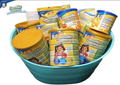 Toddlers Gobble Up Gerber Graduates {$150 Prize Pack #Giveaway}