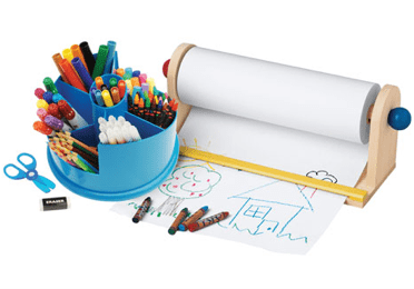 CP TOYS ~ On-A-Roll Art Center For Your Little Artist #giveaway {arv $44.99}