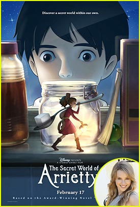 The Secret World of Arrietty #giveaway {3 Winners}