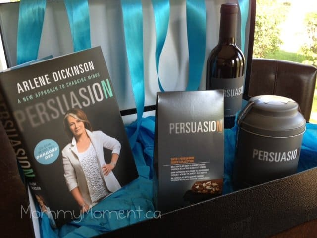 Gifts a Mother would love! Persuasion by Arlene Dickinson from the Dragons' Den #Giveaway {arv $115}