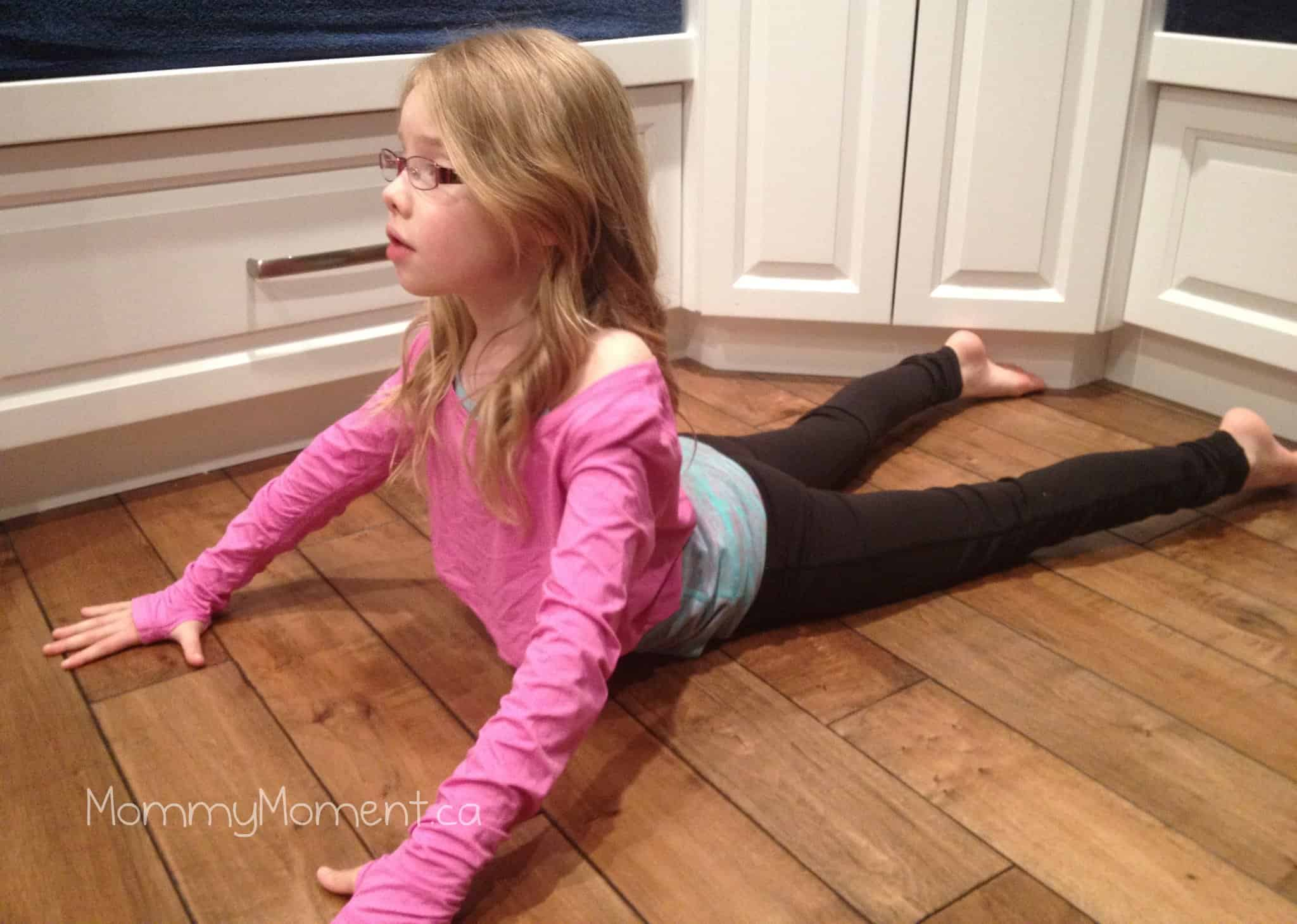 Wordless Wednesday – Our Yoga Girl {Linky}