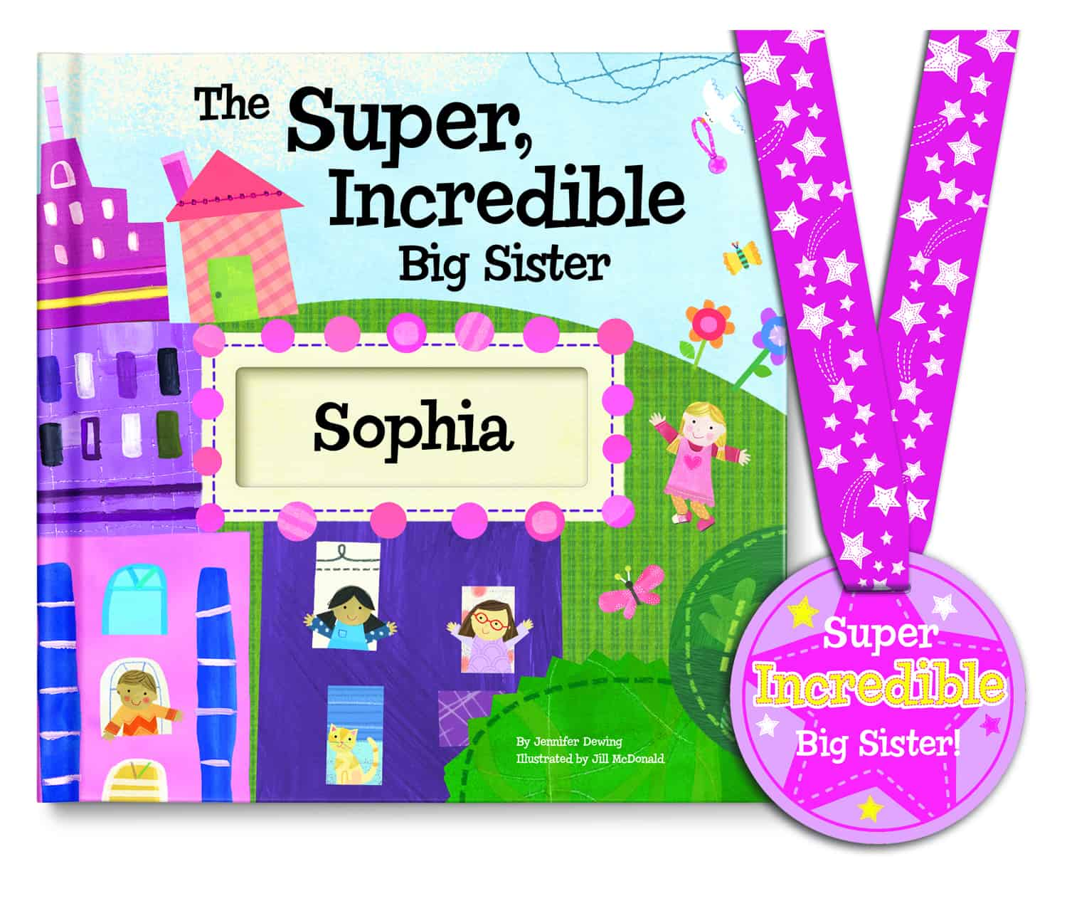 The Super, Incredible Big Brother/Sister personalized book from I See Me! #Giveaway