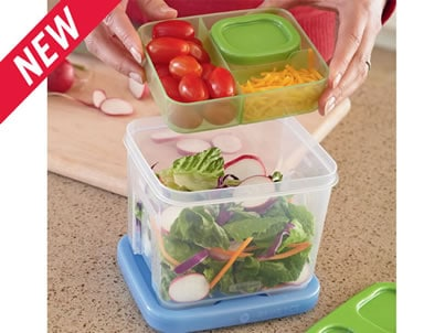 Perfectly Packed Lunches ~ with LunchBlox™ from Rubbermaid
