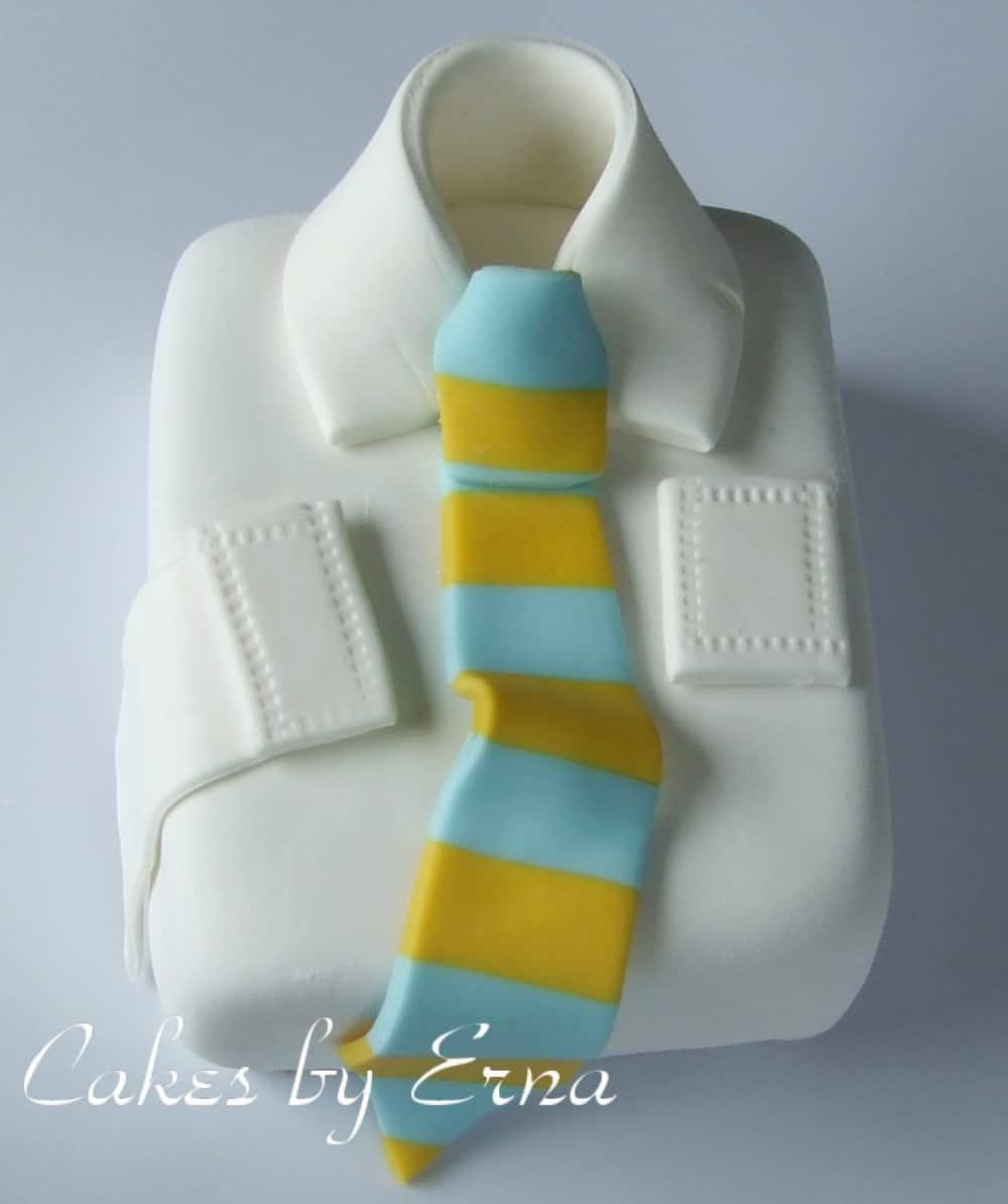 Shirt and Tie Cake