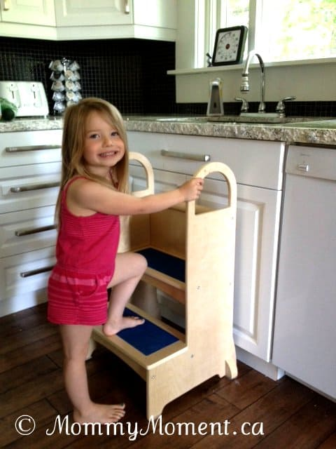 High Rise Step-Up ~ A must have for toddlers & preschoolers {Guidecraft Educator #Giveaway}