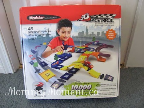 Ready, Set, Build! with 3D Racetrack from Modular™ Construction Toys #giveaway