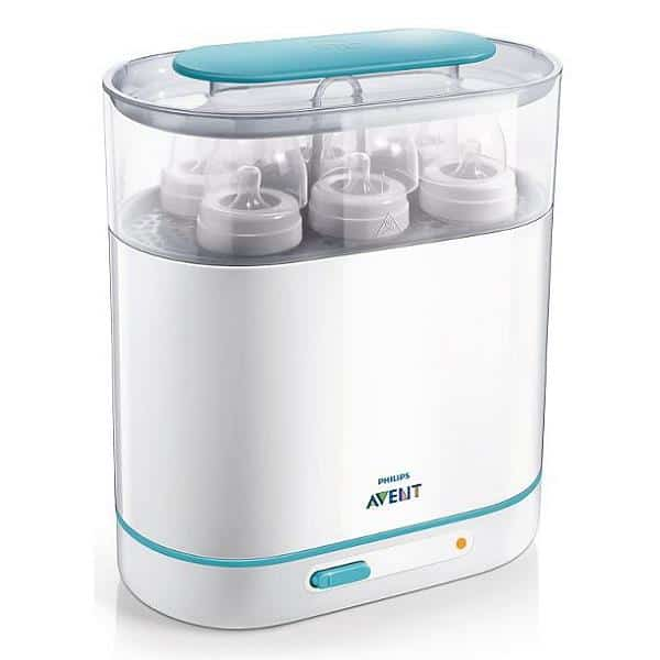 Avent 3-in-1 Sterilizer {Valued at $99.99} #babybash #giveaway