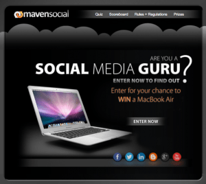 Are YOU a Social Media Guru? Your skills could #WIN you a MacBook Air!