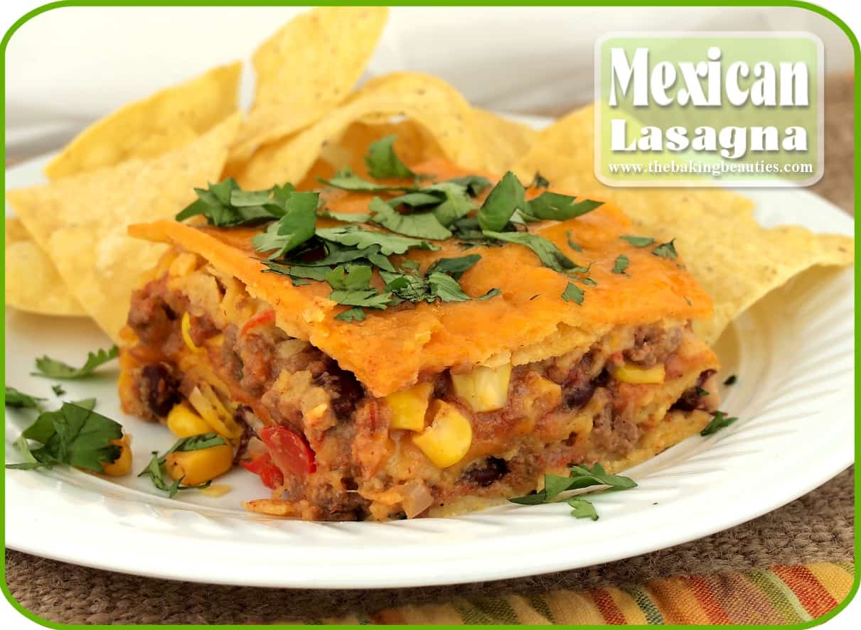 Mexican Lasagna #Recipe