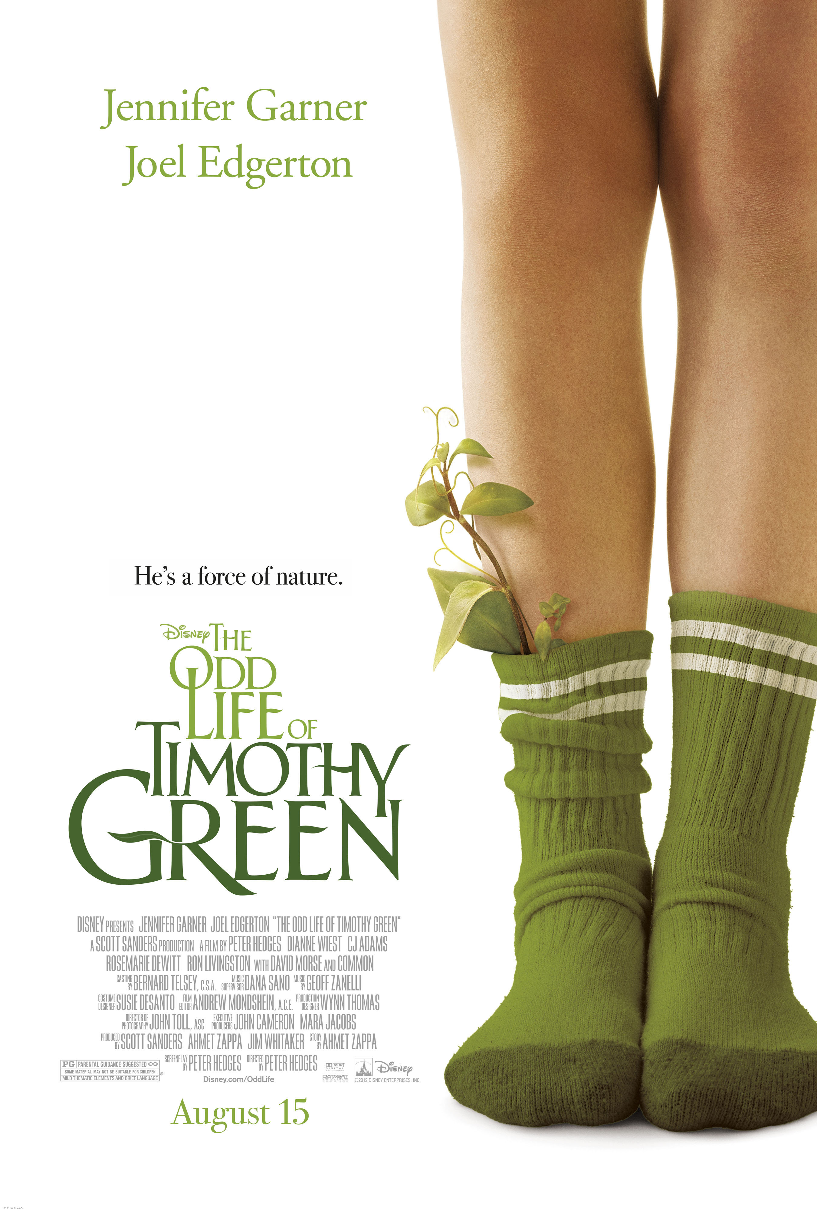 The Odd Life of Timothy Green ~ A Disney Movie