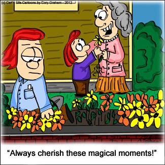 Saturday Morning Cartoon ~ Magical Moments