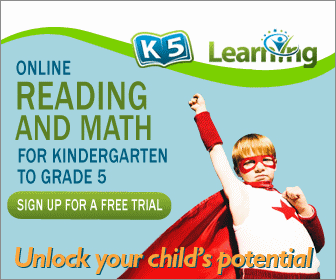 WIN a 3 Month Subscription to K5 Learning to Celebrate Back-To-School #giveaway