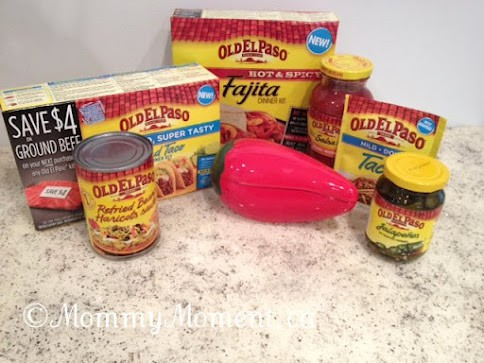 Old El Paso makes a great meal! Win a $50 Prize Pack #LMDConnector