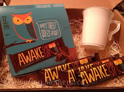 AWAKE chocolate, the perfect afternoon pick-me-up