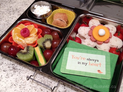 First Day Back-To-School Lovable Lunch #Bento