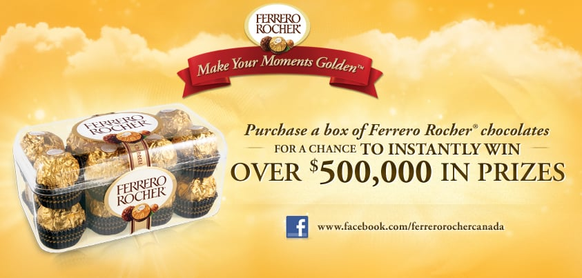 """Make your Moments Golden"" with a FERRERO ROCHER® #giveaway {Canada Only}"