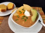 Mexican-Style Baked Potato Soup #recipe