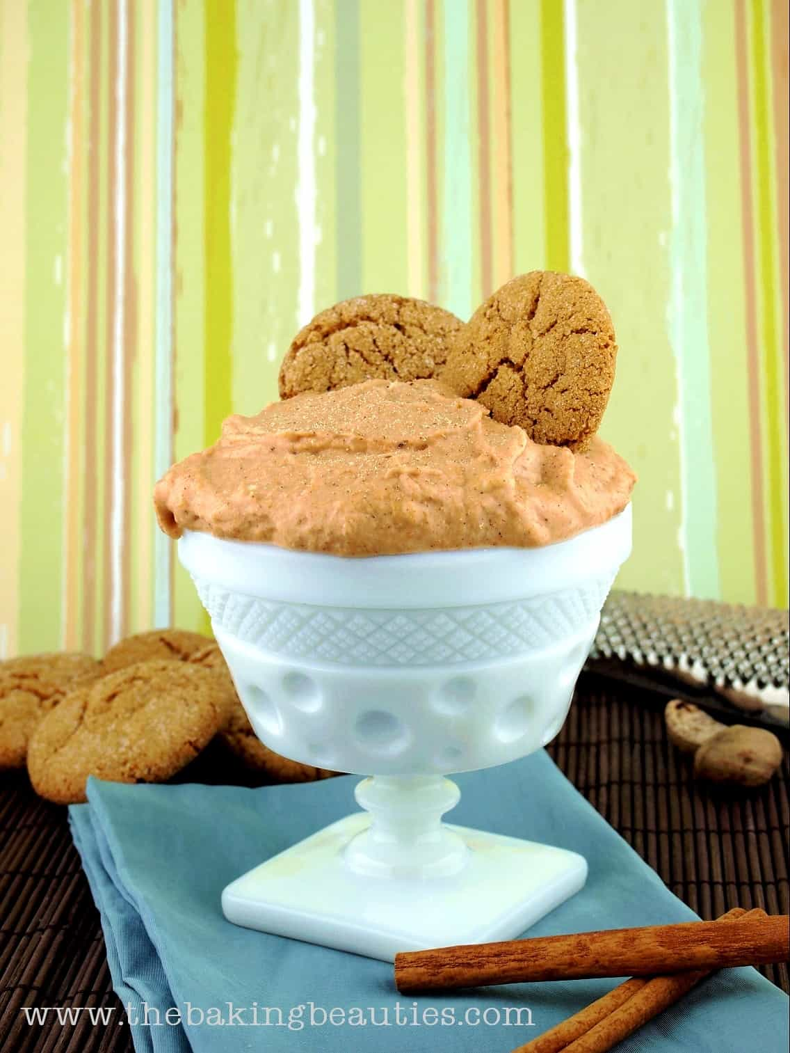 Pumpkin Cream Cheese Dip #recipe