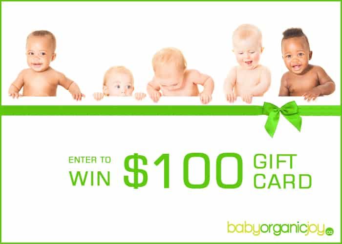 Win a $100 Gift Card from @BabyOrganicJoy
