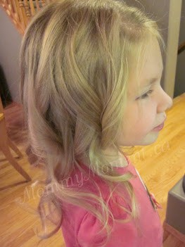 kids hairstyle curled