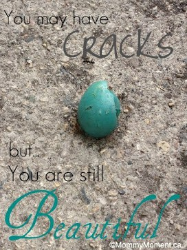 Quote ~ Cracked & Beautiful