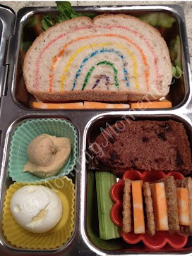 Rainbow Lovable Lunch