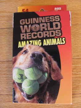 Wow Your Friends with the Guinness World Records® Amazing Animals Cards #MommyMomentGifts #giveaway