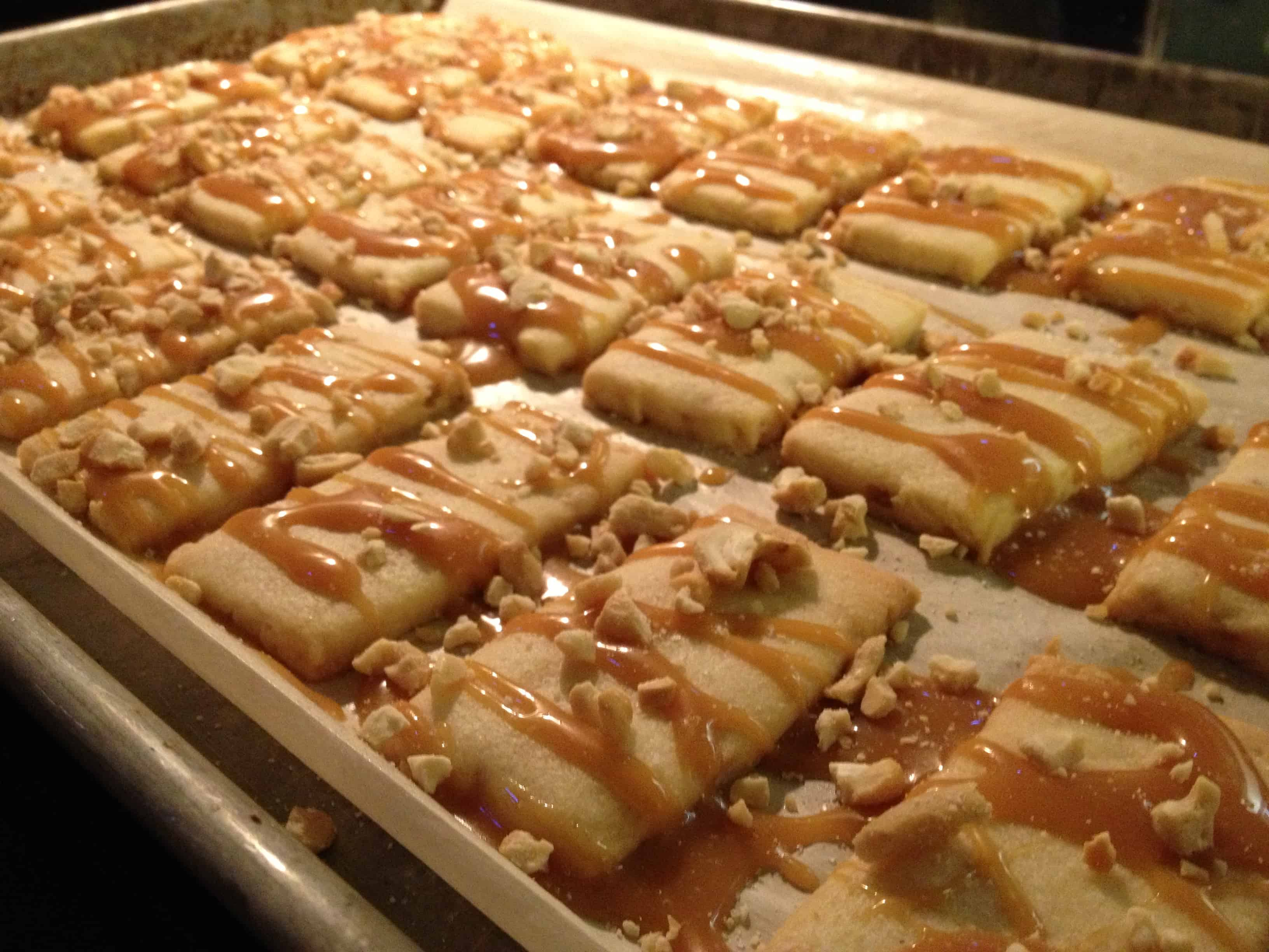Salted Caramel & Cashew Cookies