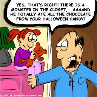 Candy cartoon