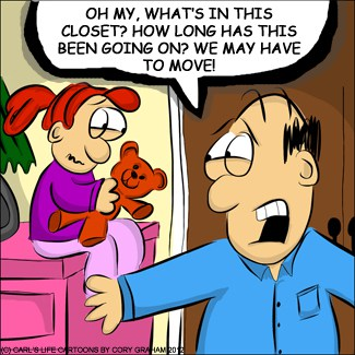 Monsters, how to get rid of the ones hiding in your closet #Cartoon