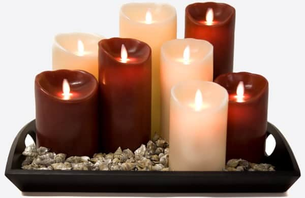 Create the Mood without the Danger with Reallite Flame-less Candles #MommyMomentGifts #Giveaway {CAN Only}
