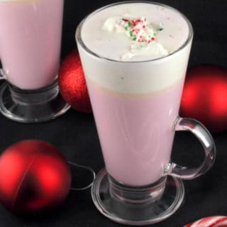 Candy Cane White Hot Chocolate Recipe