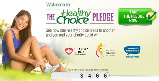 Healthy Choice Pledge