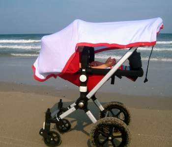 Protect Your Baby from the Sun & Wind with the Multi-Purpose Baby Blanket #MommyMomentGifts #Giveaway