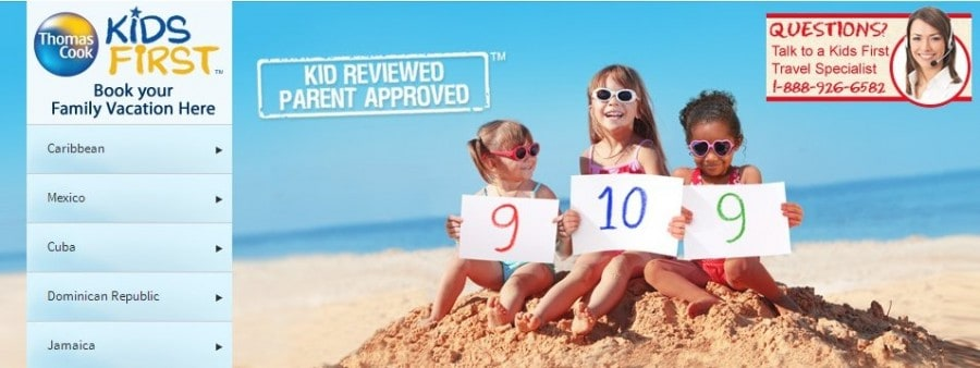 Thomas Cook Kids First Vacations