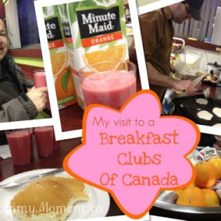 Questions & Answers from my visit to a Breakfast Clubs of Canada program