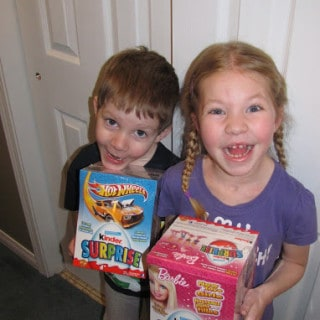 Kinder Introduces New Barbie & Hot Wheel Toys in 2013 Kinder Eggs! #KinderMom