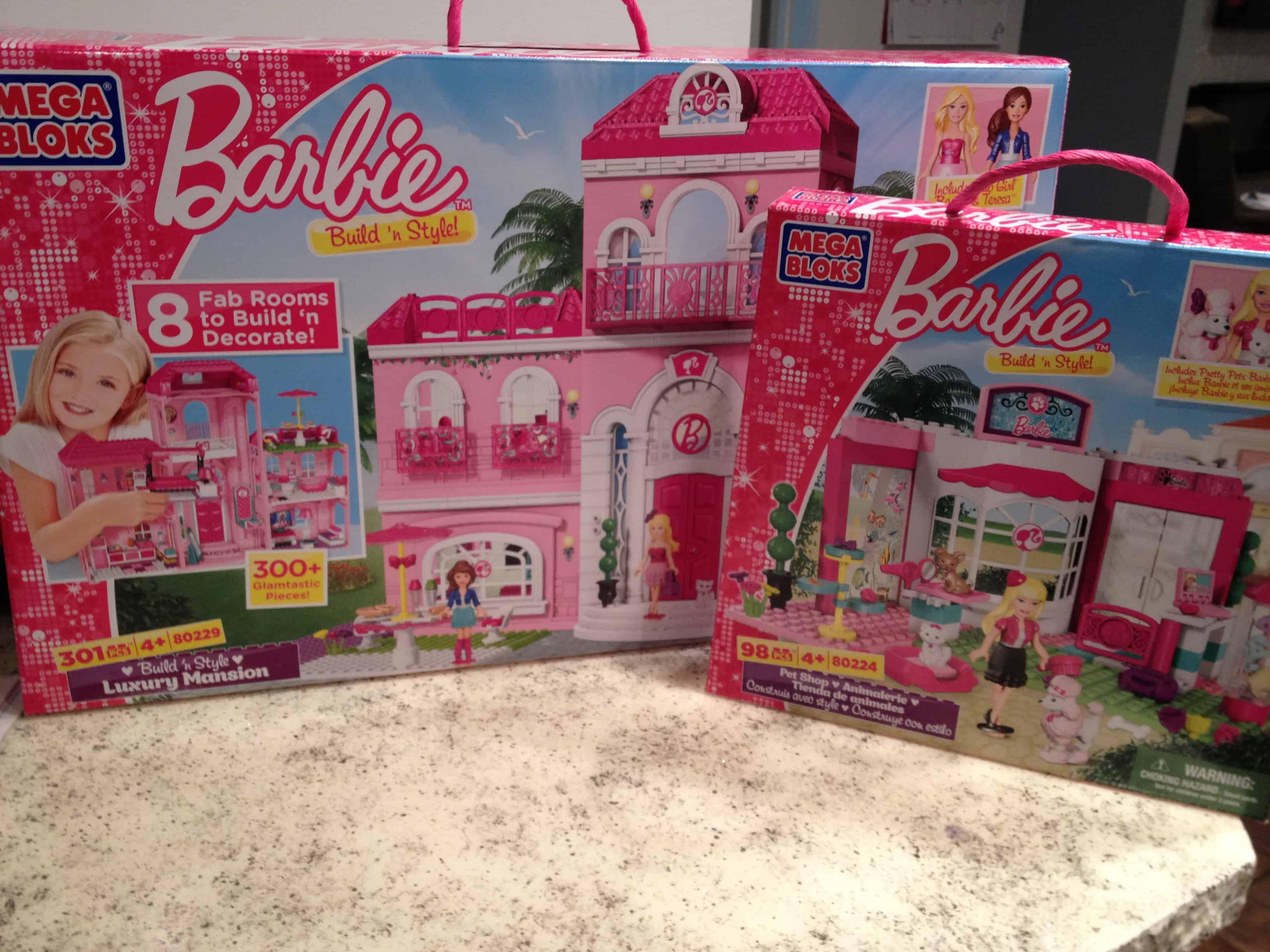 Barbie Mega Bloks