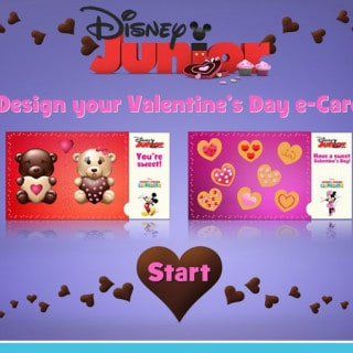 Baby It's COLD Outside! Warm Up with Disney Junior this Valentine's Day #DisneyJuniorMom