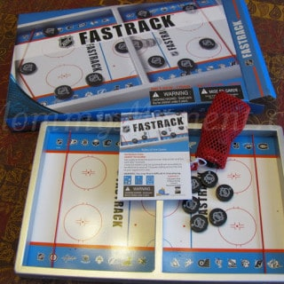 Have a Family Games Night with NHL Fastrack & Spot It! from Blue Orange Games