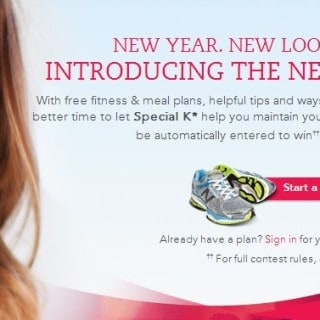Stick To Your New Year's Resolutions with the NEW My Special K Plan #Kelloggers