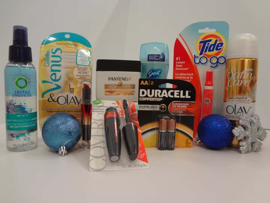 P&G Holiday Survival Kit giveaways