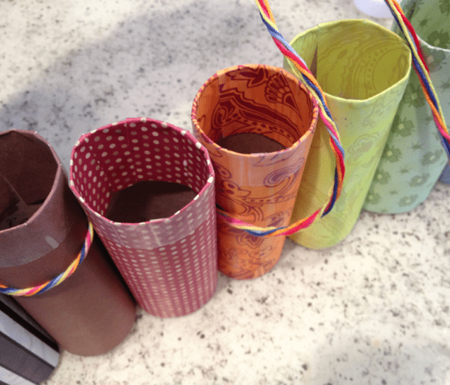 DIY Pencil Crayon Holder