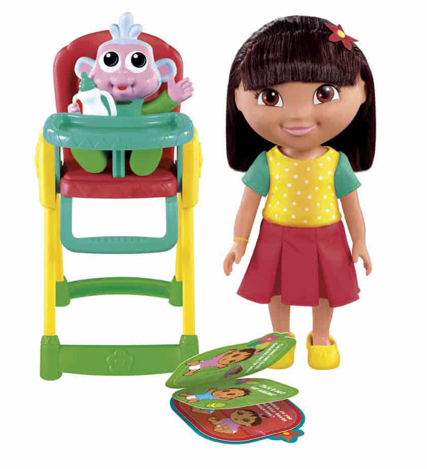 Dora The Explorer Snack Time For Baby Boots Playset Giveaway